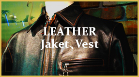 LEATHER & Jaket、Vest
