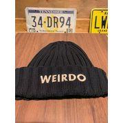 ウィアード/WEIRDO ニットキャップ WRD-19-SS-G16 WEIRDO - SUMMER KNIT